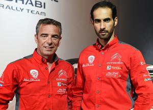 Sheikh Khalid Al Qassimi C3 WRC